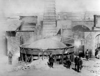 Ore smelting furnace, Gedabey, 1880. Courtesy of Siemens Corporate Archives, Munich