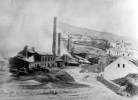 Smelting works, smelting furnace, Gedabey. Courtesy of Siemens Corporate Archives, Munich