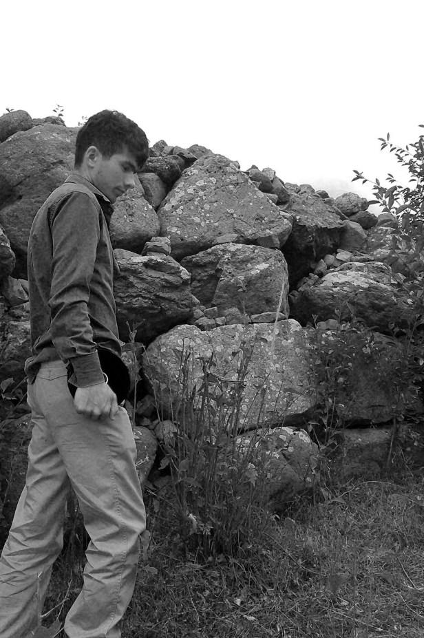 Ganni, Cyclopean Wall in background